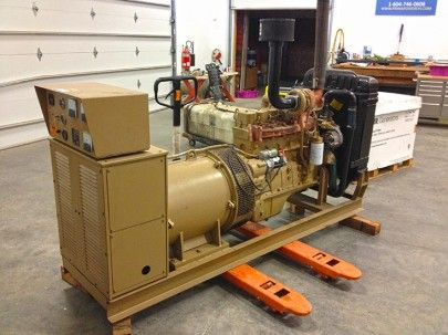 """1991 Cummins Diesel Generator 105-kWe Keep up-to-date on products in our shop with our """"New & Used"""" Generators and Equipment page! #usedgenerators"""
