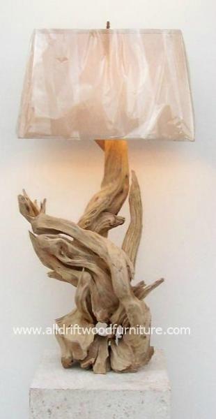 La galerie de la lampe en bois flotté est ici! Lampes hawaïennes bois flotté!