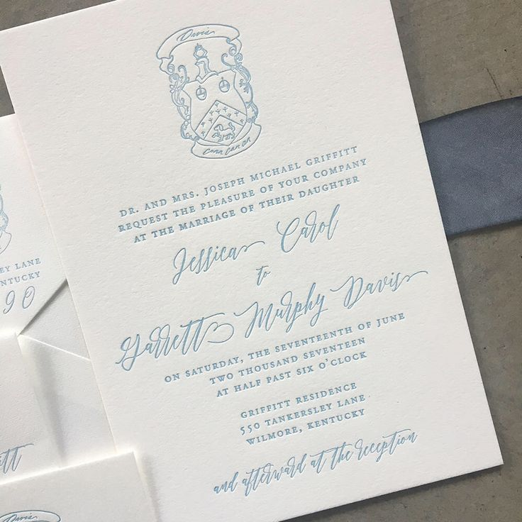 addressing wedding invitations married woman doctor%0A Invitation suite with custom family crest https   www etsy com