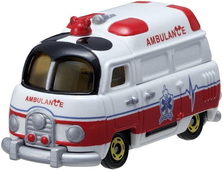 Tomica Disney Motors Mickey Mouse Ambulance DM31 สินค้าลิขสิทธิ์แท้ นำเข้าจากประเทศญี่ปุ่น เหมาะสำหรับเด็กอายุ 3 ปีขึ้นไป