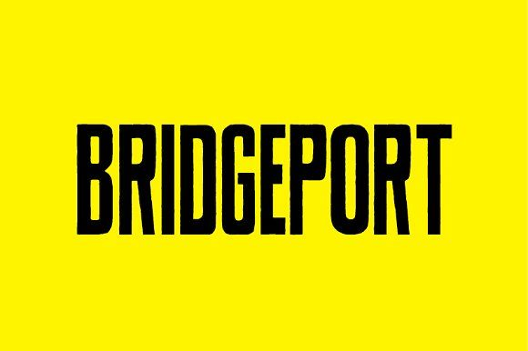 BRIDGEPORT by FOUNDFONT™ on @creativemarket