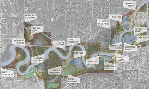 Park Works plan