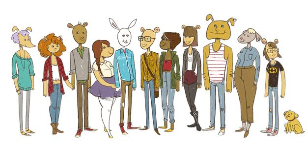 Arthur Cartoon Characters