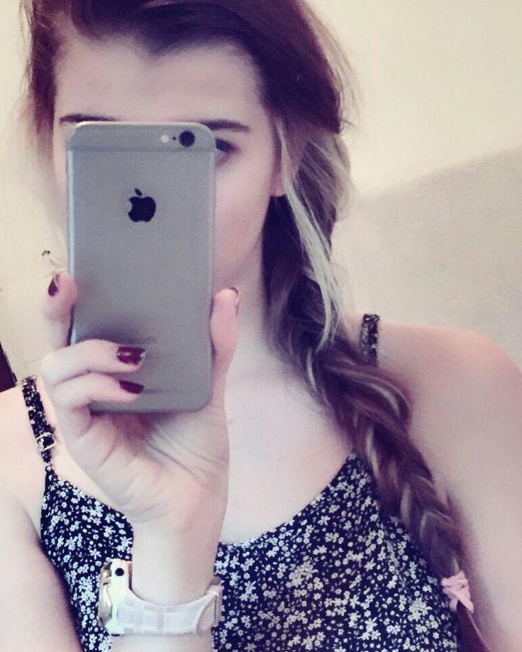Love Apple #tumblr #hair #iphone