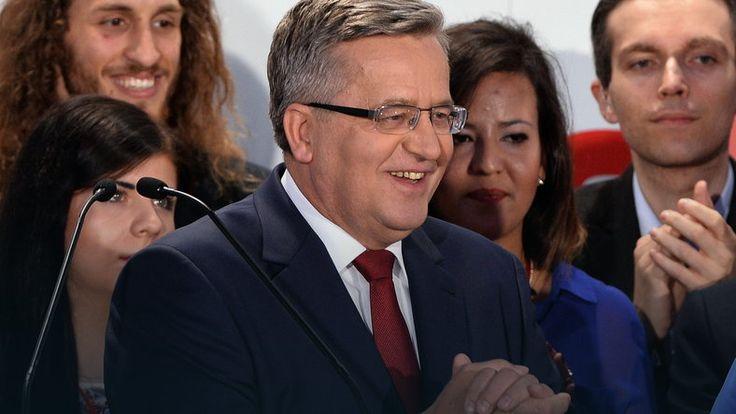 """""""GW"""" przyzna Człowieka Roku Komorowskiemu, mimo że przegrał wybory #wybory2015 #Polska"""