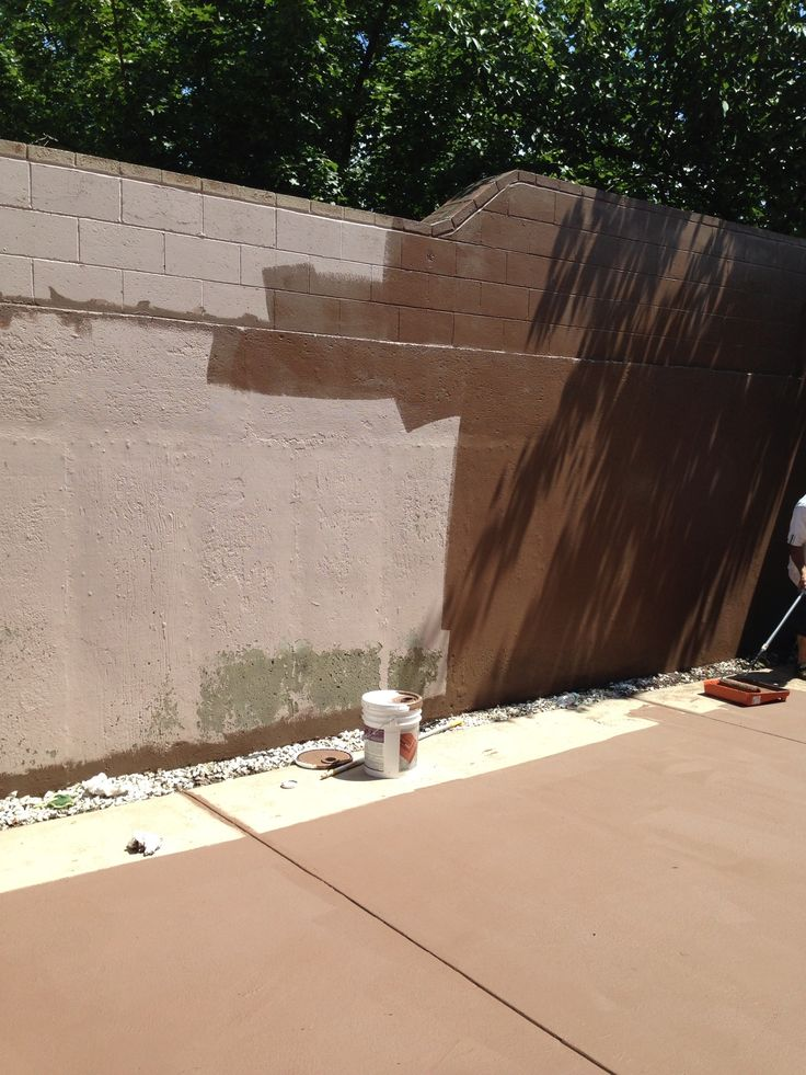 Using home depot deckover paint on my concrete patio for Home depot masonry paint