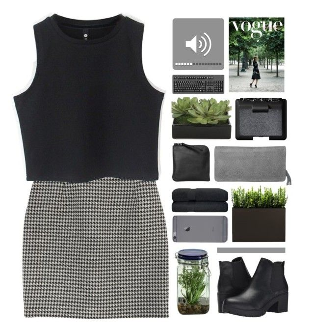 """""""fill up every hole inside my mind"""" by universed ❤ liked on Polyvore featuring Yves Saint Laurent, Chicnova Fashion, Lux-Art Silks, NARS Cosmetics, Schu(h)tzengel, Xenab Lone, Alöe, Steve Madden, women's clothing and women's fashion"""