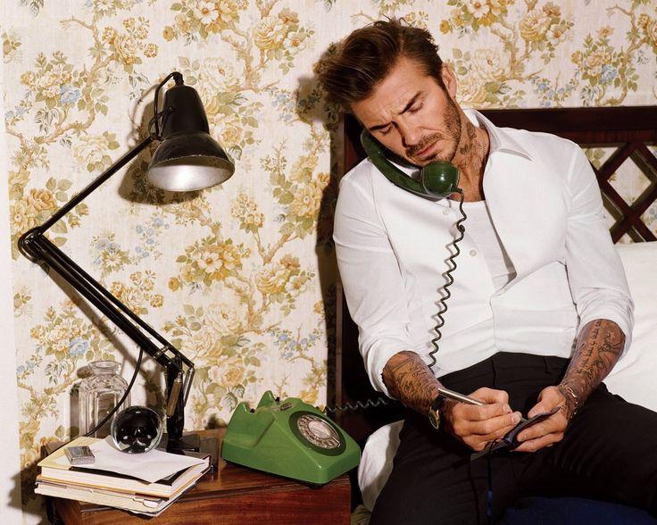 David Beckham para GQ USA Abril 2016 por Alasdair Mcellan