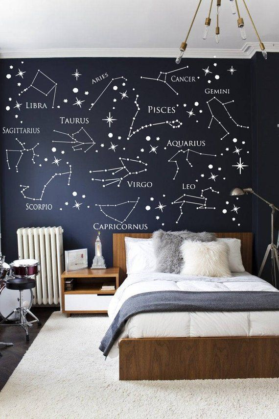 Wall Decal Zodiac Constellation Virgo