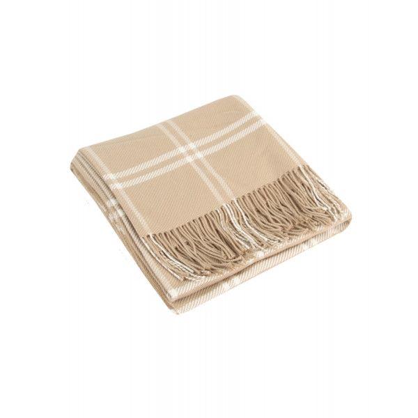 Country Attire 100% Merino Wool Rug - Camel