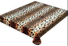 Cheetah Skin 307 Korean Mink Queen Blanket