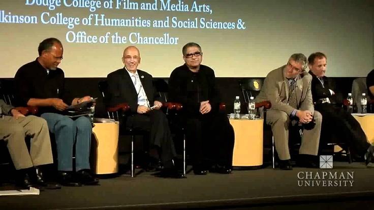 Deepak Chopra, Michael Shermer, Chapman University