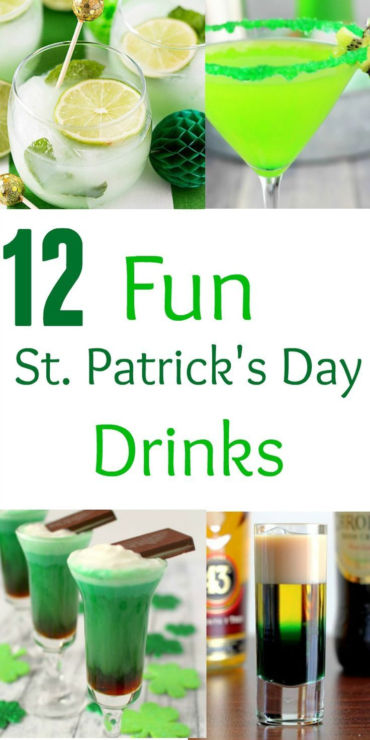 12 fun st patrick 39 s day drinks saints beverage and st for Fun alcoholic drink recipes