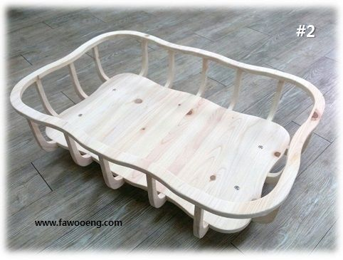 baby cradle made by birch and laminated bamboo