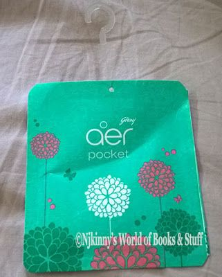 Product Review: Godrej Aer Pocket Bathroom Fragrance ~ morning.misty.meadows fragrance ~ Njkinny's World of Books & Stuff http://www.njkinnysblog.com/2016/02/product-review-godrej-aer-pocket.html #RoomFreshner #BathroomAccessories #Recommended