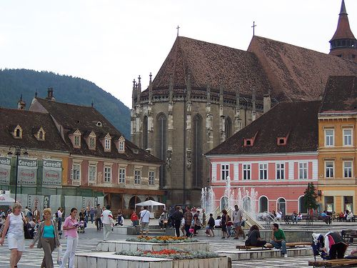 Brasov, Romania!    From sarahcraycroft.theworldrace.org