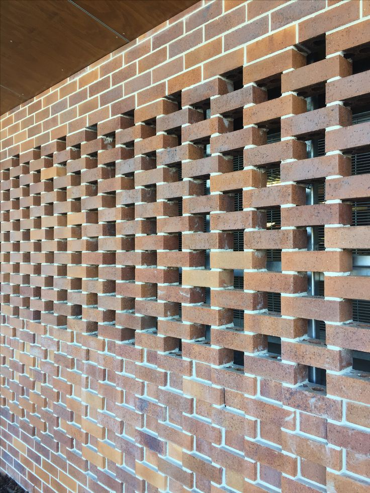 Great Brick screen at the new Grand Central extension