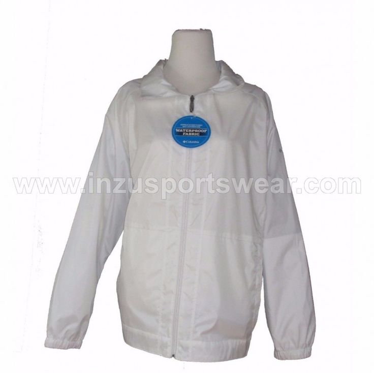 Columbia Access Point Omni Shield Jacket-White