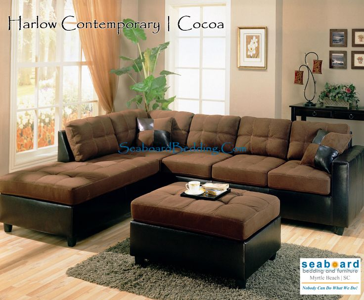 sofa leather sectional hills by p beverly orchard brown
