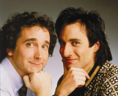 Larry Appleton and Balki Bartokomous ~ Perfect Strangers 1986...this was my absolute favorite...(jackie and jill)
