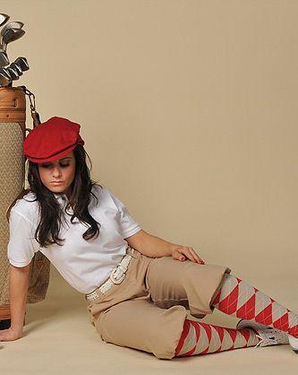 Women's Classic Stewart Golf Knicker - http://www.kingscrossknickers.com