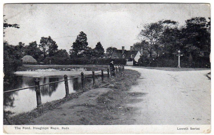 The Pond (was opp. Chequers) Postcard | eBay