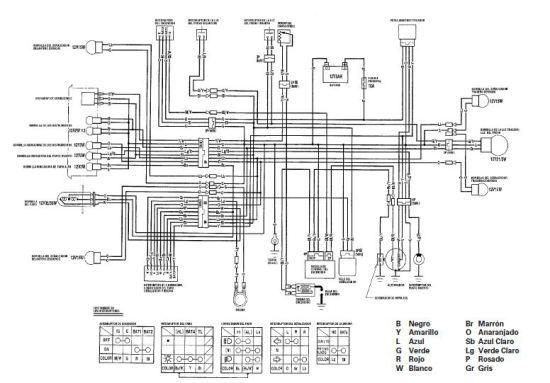 Manuales De Diagramas El U00e9ctricos  Yamaha Dt 125  Honda Cg 125 Tit U00e1n  Honda Cg 125  Con Im U00e1genes