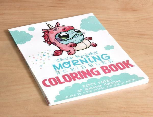 Morning Scribbles Coloring Book Pdf Download Med Bilder
