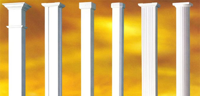 8 best Afco fiberglass and aluminum columns images on ...