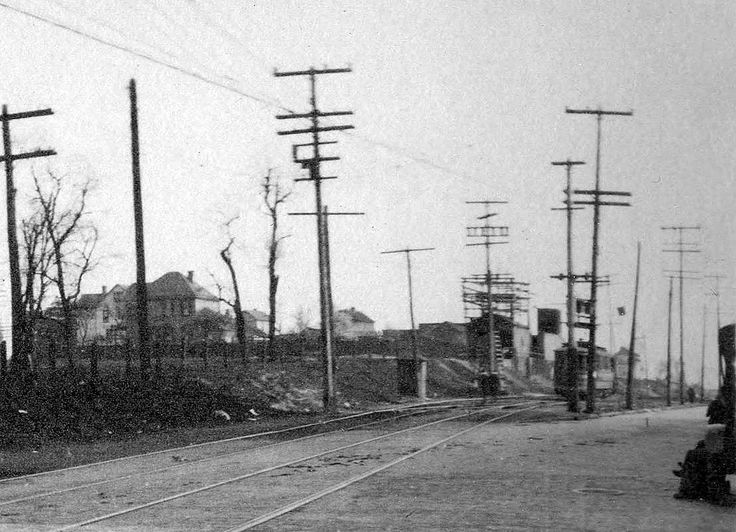 The Scioto Valley Traction Interurban And Streetcar Right Away On Parsons Ave South Of Groveport Pike