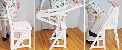 Fantastic chair...ladder!?