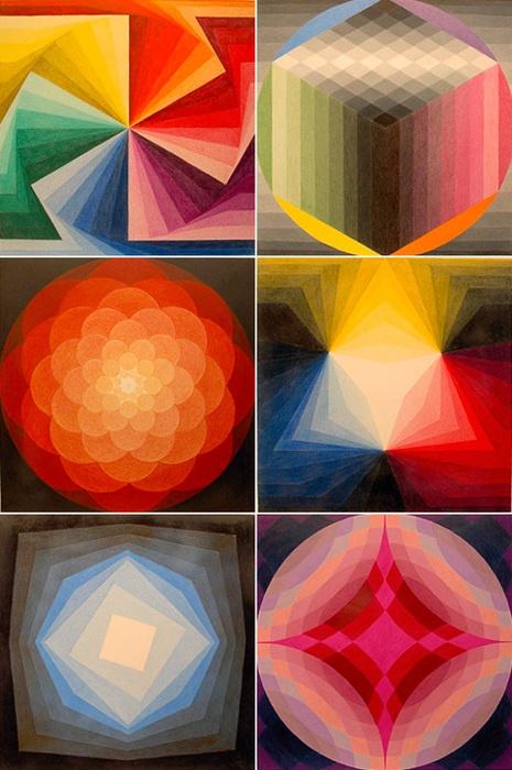 Geometric Abstraction Art by Zanis Waldheims. (via ...