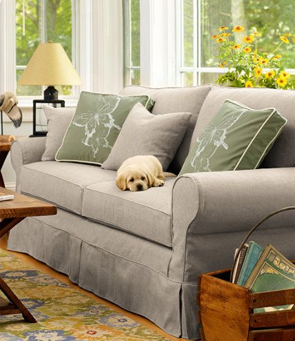 Pine Point Slipcovered Sofa: Slipcovers at L.L.Bean