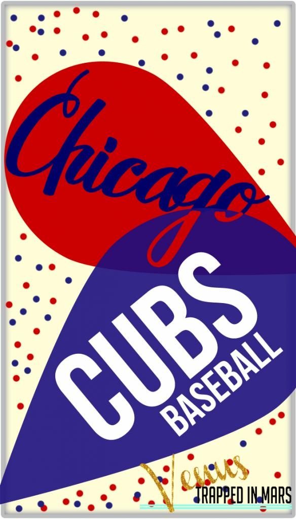 Chicago Cubs iphone Screen saver background