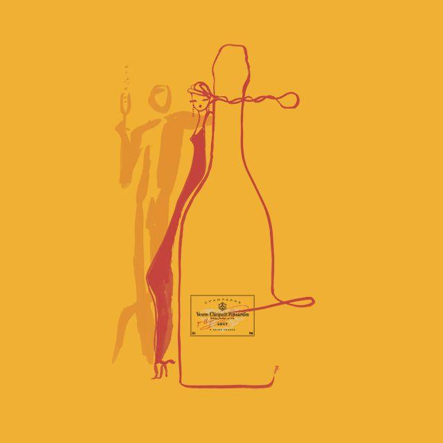 Champers ~ Veuve Clicquot