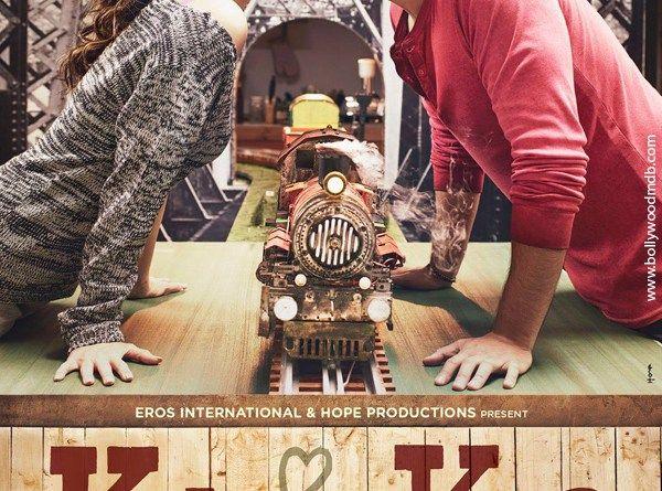 Kareena Kapoor Kissing Arjun Kapoor in Ki and Ka Movie Poster