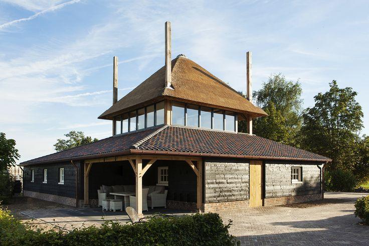 bijgebouw | een schuur geïnspireerd op de traditionele brabantse hooischuren