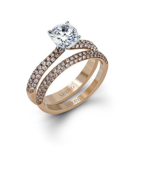 Simon G. Engagement Ring