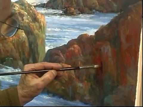 """Painting demonstration """"Master Class"""" by Alex Perez  Part 3/3"""