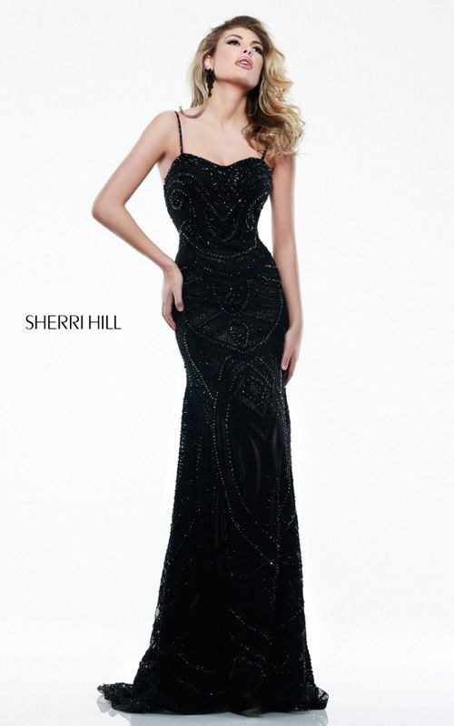 31 best Sherri Hill images on Pinterest | Schwarze ...
