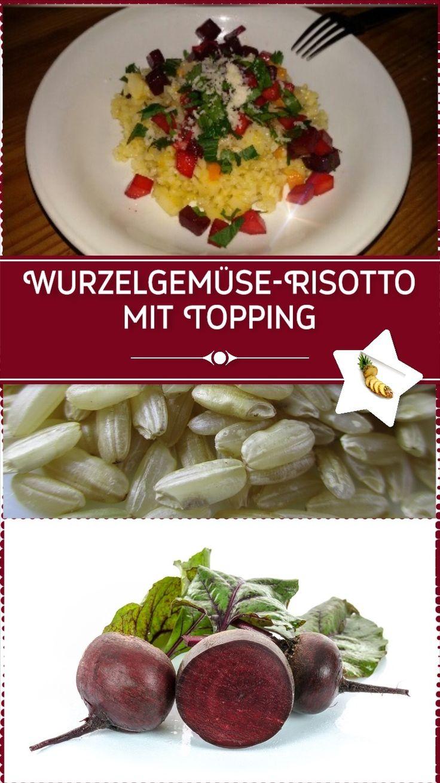 #Blutgruppen #Ernährung und #Diät. #Rezeptideen für #Hauptspeisen.  #Wurzelgemüse-Risotto mit Topping. #Risotto mal anders und passend zur #Winterzeit!
