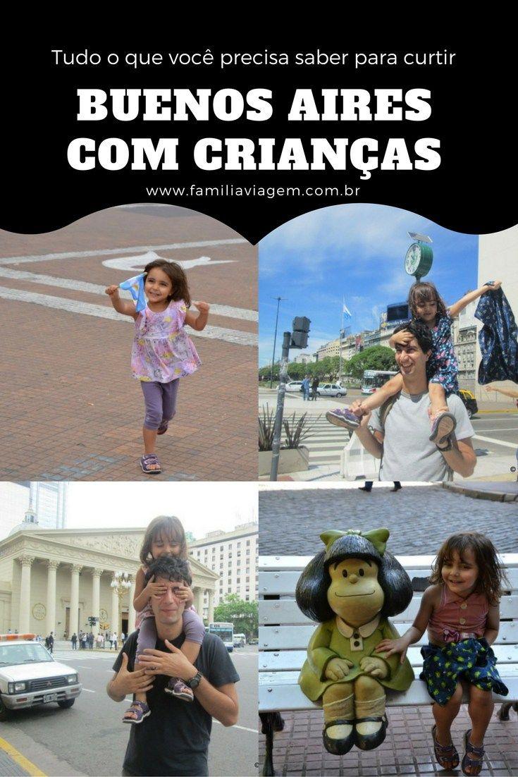 Buenos Aires com Crianças pode ser muito divertido. Guia pra aproveitar a cidade com os pequenos.