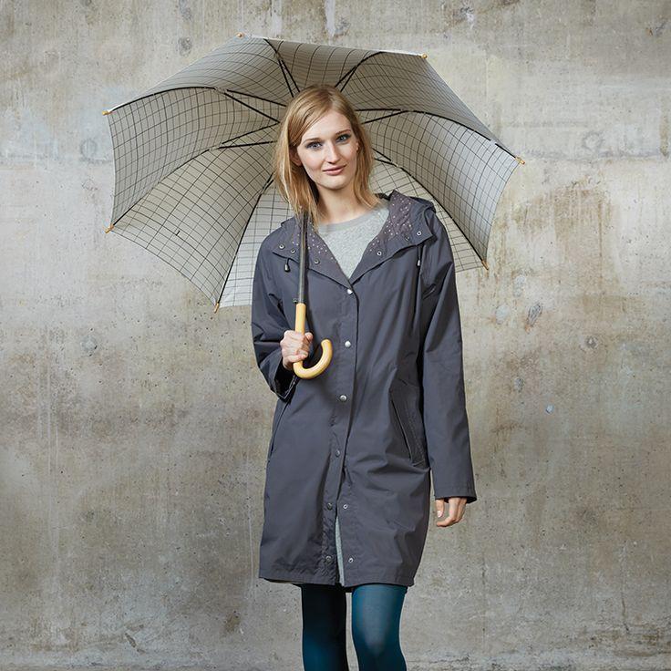 Shelter 3/4 Raincoat | Citta Design