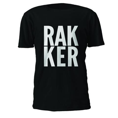 T-skjorte: RAKKER (svart)