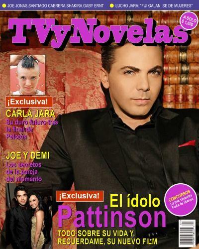 Se famoso en un minuto Tu foto en Tapa de revista TvyNovelas