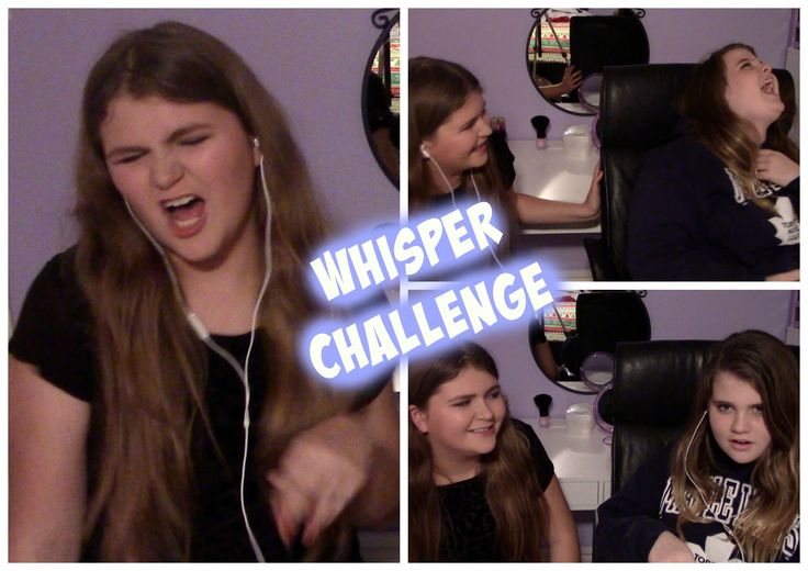 HILARIOUS WHISPER CHALLENGE ft. Bailey
