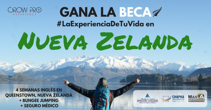 Gana una BECA para estudiar inglés en Nueva Zelanda. Voten  por mi hermana por favor.