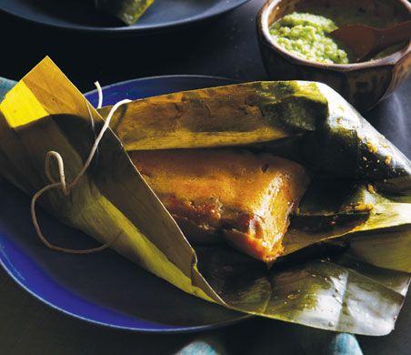 Puerto Rican Pasteles (Pasteles Puertorriqueños) Recipe  | Epicurious.com