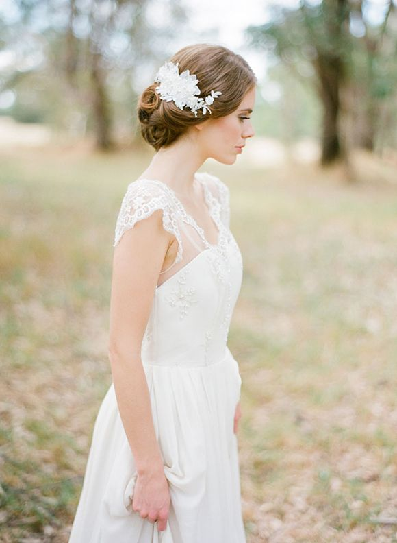 Percy Handmade's 2014 Bridal Collection | magnolia rouge