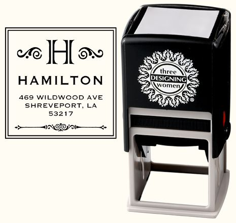 These are neat too.  Your own personalized stamp.